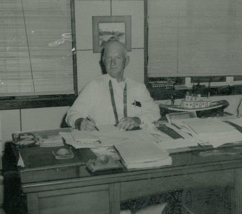 Captain F.M. Hendry