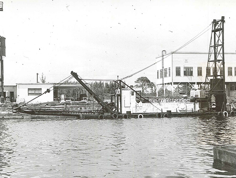 Hendry Corporation - Dredge No. 6 - 1950's